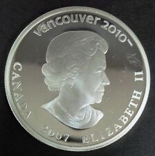 C056-67 # CANADA | SILVER, THE VANCOUVER OLYMPICS, 25 DOLLARS, 2010, KM#742, BU