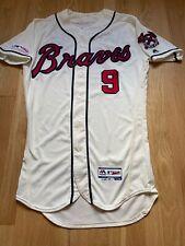 Billy Hamilton Game Used Worn Jersey Atlanta Braves IVORY MLB HOLOGRAM AUTH