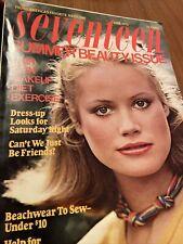 Seventeen Magazine June 1976 Vintage Summer Beauty Fashion Ads 1970's Clothing