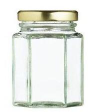 Neu Nutleys 8oz Hexagonal Marmelade Aufbewahrung Glas mit