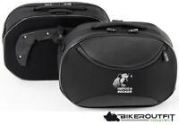 HEPCO & BECKER Koffer STREET Set PAAR Seitentaschen Softbag für C-BOW schwarz