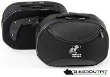 HEPCO & BECKER Koffer Koffersatz STREET Seitentaschen Softbag für C-BOW schwarz