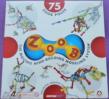 Zoob 75 + 19 Piece ZoobDude Fireman Set! The Moving Building System by Infinitoy