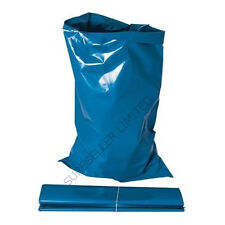 7 X EXTRA LARGE BLUE BUILDERS RUBBLE WASTE SACKS BAGS HEAVY DUTY GARDEN REFUSE