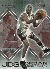 2000 UPPER DECK MICHAEL JORDAN JDG BLACK DIAMOND GALLERY #DG1 BASKETBALL CARD
