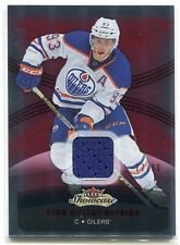 2015-16 Fleer Showcase Red Glow 83 Ryan Nugent-Hopkins Jersey 77/99