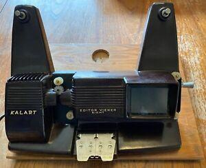 Rare Vintage Bakelite Kalart EV-8 DS 8mm Cine Film Editor Viewer Spares / Repair