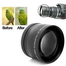 58mm Professionele 2X Telelens Lens voor Canon 350D / 400D / 450D / 500D / 1000D
