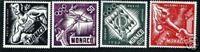 "MONACO STAMP POSTE AERIENNE 51/54 "" JEUX OLYMPIQUES HELSINKI 1953 "" NEUFSxx LUXE"
