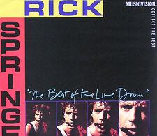 RICK SPRINGFIELD '85 BEAT OF THE LIVE DRUM VIDEO POSTER ORIGINAL