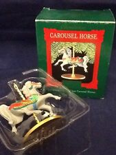 """Hallmark """"Holly"""" 2nd of 4 Carousel Horses, 1989"""