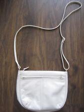 Damenhandtasche helle mit verstellbarem Gürtel wie NEU !!!