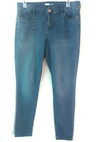 Old Navy Women's Supper Skinny Stretch  Blue Denim Jeans 14