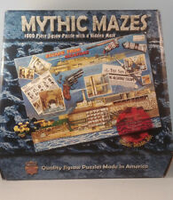 MYTHIC MAZES, 1000 piece jigsaw, ESCAPE FROM ALCATRAZ--MasterPieces--Great!