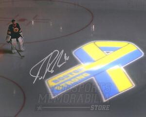 Tuukka Rask Boston Bruins Signed Autographed Boston Strong Illumination 8x10