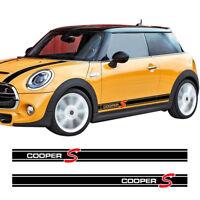 Mini Cooper S Race Stripes Bmw Car Decal Vinyl Sticker