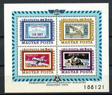Hungary 1974 SG#MS2917 Air, Aerofila Airmail Exhibition MNH M/S #A35038