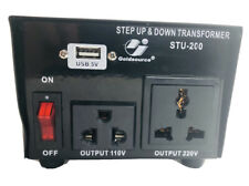 Goldsource STU-200 Step Up/Down Voltage Transformer Converter AC 110/220 V 200 W