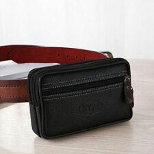 Summer Mens Retro Casual Waist Bag Waist Cell Phone Bag Fanny Pack Coin Bag