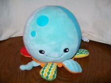 Skip Hop Octopus Plush Rattle Toy for Babies