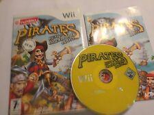 """Nintendo Wii Game Pirati Caccia a Barbanera'S Booty + scatola Instr """"COMPLETO PAL"""