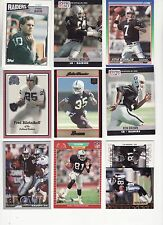 OAKLAND RAIDERS 100 CARD LOT NO DOUBLES *HOT & CHEAP HARD TO PUT TOGETHER