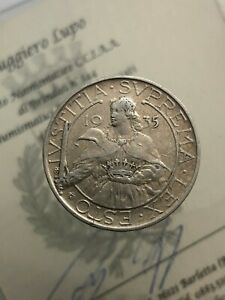 10 Livres 1935 BB San Marino Old Coinage