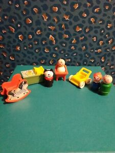Vintage Fisher Price Little People Bundle. Nursery baby dog bargain