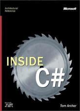 Inside C# (Microsoft Programming)-Tom Archer
