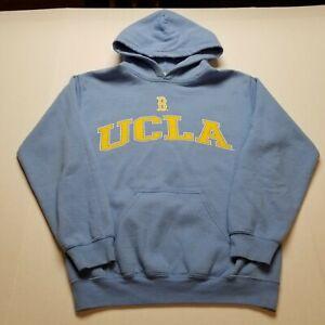 "UCLA Sweatshirt Mens S Hoodie Blue Pullover Yellow ""45"
