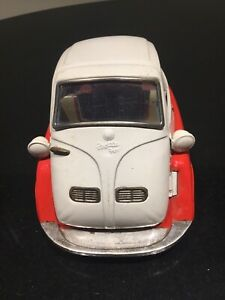 Vintage Isetta Bandai 1960's Tin Toy BMW Car Made In Japan