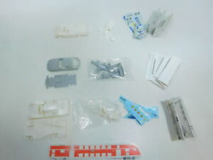 BX803-0, 5 #3x Heller 1:43 Kit Porsche: 962+ 928, Small Parts Missing