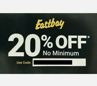 Eastbay 20% Coupon Promo Code No Minimum Exp 10/19/20 Sports Athletic