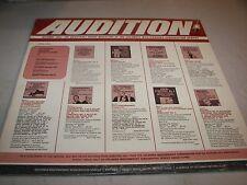 COLUMBIA MASTERWORKS AUDITION AUTUMN 1965 VARIOUS ARTISTS LP NM MPS-6
