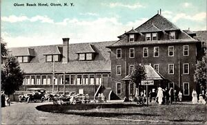 Postcard Olcott Beach Hotel in Olcott, New York~139891