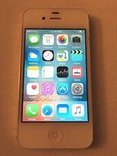 Apple iPhone 4s - 16GB - White (Sprint) A1387 (CDMA + GSM) Phone, see photos