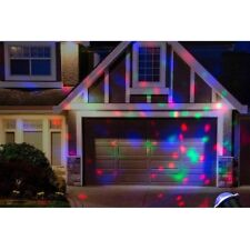 Outdoor RGB LED Moving Laser Projector Light Garden Party Stage Lighting Xmas