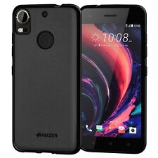 AMZER Exclusive Pudding Matte TPU Back Case Cover For HTC Desire 10 Pro - Black