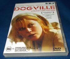 DOGVILLE DVD REGION 4 VGC LARS VON TRIER