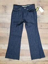 Womens Ralph Lauren Rugby Jeans size 24 High Waisted Wide Leg NWT Dark linen