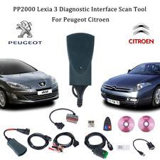 PP2000 Lexia-3 OBD 2 Auto Voiture Scanner Diagbox USB Câble Citroen/Peugeot FR