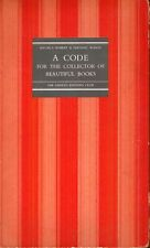 Maurice Robert / Limited Editions Club Code for the Collector of Beautiful Books