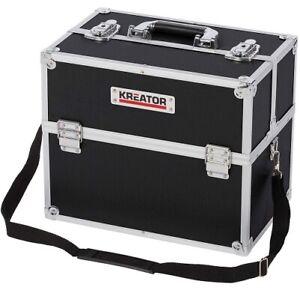 Valigia porta attrezzi portautensili valigetta alluminio cassetta vuota lavoro