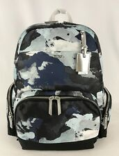 TUMI Voyageur Calias Backpack Blue Water Color Print Limited Edition 48503BWC