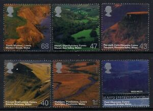 MINT 2004 A BRITISH JOURNEY WALES STAMP SET OF 6 MUH