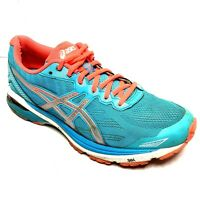 Asics GT 1000 Women Shoes 9.5 Blue Orange Cross Trainer Hike Sneaker Runners