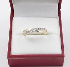 Eternity Yellow Gold Fine Rings