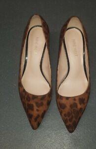 Nine West Women's  Fabulous Court Shoes in Leopard Print Size UK7 /40EUR