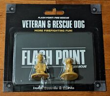 Flash Point Fire Rescue Veteran & Rescue Dog Expansion Pack