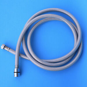 """Lux 1800mm shower hose with 1/2"""" F x 3/8"""" F connection for pull shower chrome"""